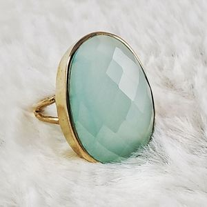 Jewelry - Chalcedony Vermeil Ring